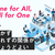 One for All, All for One は、付かず離れずの関係がちょうどよい