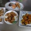 幸運な病のレシピ( 1682 )朝:鮭・鱒、炙り豚肉、鳥ネギ醤油、カボチャ、味噌汁、マユのご飯