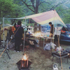 西丹沢へ犬連れでキャンプしてきた/西丹沢ウェルネスキャンプ・スウェディッシュトーチでたき火料理