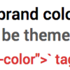 メタ theme-color