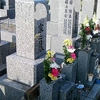 父の墓参り