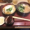 新日本橋ランチ 蕎麦屋さんのセットはボリュームが・・すごい。