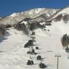 苗場スキー場とドラゴンドラ