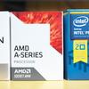 Athlon 3000G vs A6-9500 vs Pentium G3258 ローエンドデュアルコアCPUの戦い!