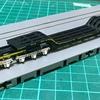 甲府モデル 『シキ180』を作る(ローダウン・補強・回転軸構造変更)その5「荷受梁、組む」