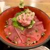 漁十八番!渋谷の大人気居酒屋でワンコイン鮪丼と名物十八番丼を喰らう