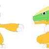 Blenderでモンスター型のキャラクターモデルを作成する その1(三面図の作成とモデリング手法)