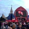 ロシアW杯観戦録11.5 ベルギーvsフランスをモスクワのFAN FESTで観戦