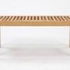 竹集成材の剛性と弾性を活かしたベンチです