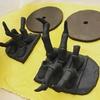 団子虫鉢と鹿鉢の作陶