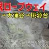 スリル満点! 箱根ロープウェイで大涌谷・桃源台への空の旅【2020-06箱根3】
