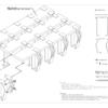 【noashi】ベッド用の脚(Be001,002)の組立方法