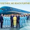 ベトナム航空ハノイ行き A380-200