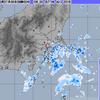 東京23区など非常に激しい雨!