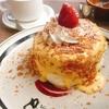 【期間限定】いちごのミルフィーユ風パンケーキ@eggg  Cafe