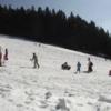 子供と雪遊び奈良県のスキー場洞川スキー場