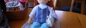 【60代の手芸生活】ハンドメイドのお人形で着せ替えごっこ