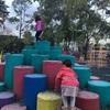 メキシコでも公園で遊ぶ