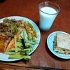幸運な病のレシピ( 2275 )昼 :12枚切りサンドイッチ、揚げたてカツレット
