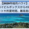 【2020年12月ハワイ】ラニカイピルボックスからの絶景!ルートや所要時間、難易度は?