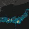 データ可視化特化GISフレームワーク「deck.gl」を使ってみた