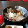 福井県 まっ田の海鮮丼を食べたよ!大海原の見える名店はここ!