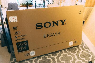 【快適なリビングへ!】5年ぶりにSONYのテレビを買ったらすごく良かった。