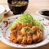 【やよい軒全メニュー食べてみた④】鶏もも一枚揚げ定食(おろしぽん酢)【食べ比べ】