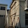 外壁塗装1-1(某プレハブメーカー賃貸コーポの外部修理)