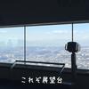 地上273mから横浜を一望できるランドマークタワー展望スカイガーデンに行ってきた。
