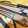 コントラバス弓と弓ケース