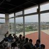 3年生:社会 展望台から学校の東西南北を見る
