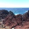 赤岩、赤×青=妙景の予感(赤岩(夏場の昼間))
