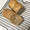シナモン入りパン、キャベツチャーハンとブロッコリーのシチュー
