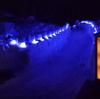 奥日光湯元温泉の雪祭りライトアップを撮ってきました ~雪灯里(ゆきあかり)編~