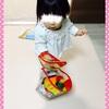☆ ブロックをばらまいて歩く おもちゃの点在《1歳4ヶ月》