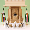 特大サイズの一社の神棚 尾州桧の定番一社 神明神殿シリーズ