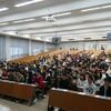ある大学の新入生対象講演で…