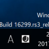 Windows10 Build 16299でました。