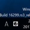 Windows10 Build 16299でました。