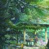梅雨にぴったりアニメ「言の葉の庭」