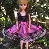 ピンクと黒のドレス    その3
