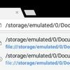 Android端末内のHTMLファイルをChromeで開く方法