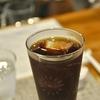 住吉の「珈琲かたの」でアイスコーヒー。