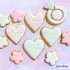 【アイシングクッキー】初心者におすすめ!簡単かわいいアイシングクッキーの作り方!
