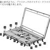 ThinkPad E430 ヒンジぐらつき修理+キーボードベゼル交換(準備編)