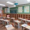 新1年生の教室の絵は…