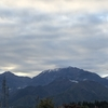 初冠雪は富士山だけじゃない。北アルプスにも雪が降りました!