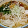 魂麺@本八幡 1/4限定 香港風海老ワンタン麺