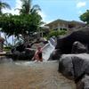 2018年夏ハワイ島家族旅行(5) 2日目 キングスランドのプールへ